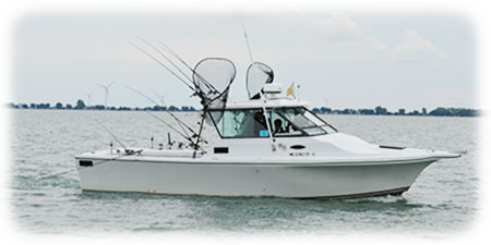 Fishing Guide St Clair Shores MI Boat